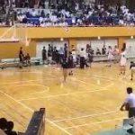 【動画】延岡学園バスケ部の留学生が審判を殴り没収試合に…