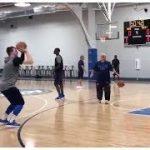 ドンチッチがダレルアームストロングACを突き飛ばしてる動画がちょっとした話題に…【NBA 2018】