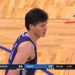 渡邊雄太、3戦目は約6分間の出場で2得点1リバウンド【NBA 2018-19】