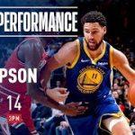 クレイ・トンプソンが14本の3ポイントを沈め同僚カリーの持っていた1試合最多成功本数記録を更新!【NBA 2018-19】