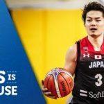 FIBA公式が日本の予選ハイライト公開!馬場のダンクはやっぱり凄いな【バスケW杯2019】