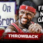 【動画】レブロンのNBA初ゲームをザイオンと比べると…
