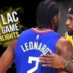 【NBA 2019-20】開幕戦でLACがLALに完勝!カワイ30点、レブロン18点、AD25点
