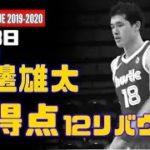 Gリーグ開幕戦で日本人直接対決!渡邊雄太は7得点12R、馬場雄大は5分の出場で無得点