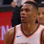 【NBA 2017-18】ウエストブルックの不調に引っ張られるように勝てないサンダー、現在西地区12位でPO圏外…