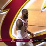 【NBA 2017-18】レブロン・ジェームズがキャリア初となるテクニカルファールによる退場処分を受ける