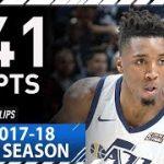 【NBA 2017-18】ユタ・ジャズの新星ドノバン・ミッチェルは13位指名から新人王も狙えそう?